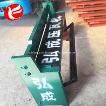 Máquina de corte de chapa galvanizada manual / zinc / metal