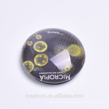 customized glass magnet Souvenir Glass Fridge Magnet