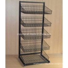 5 Layer Heavy Duty Wire Basket Shelf (PHY556)
