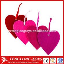Hot sale Felt Heart Ornaments 3mm