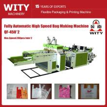 Automatische Hochgeschwindigkeits-T-Shirt-Beutelherstellungsmaschine