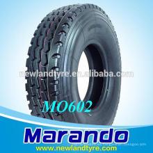 225 / 70R22.5 225 / 80R22.5 Remolque Neumáticos marca Superhawk marca Marando
