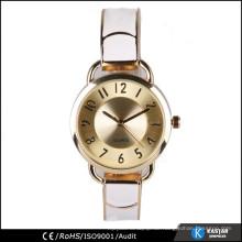 Kleine Armbanduhren für Damen und Mädchen, Quarz Edelstahl Rückenuhr