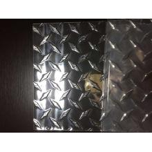 3003 Feuille d'aluminium Modèle de diamant pour camion