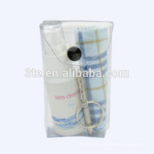 Optical eyeglasses lens cleaning kit