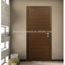 Diseño moderno de puerta a ras de apartamento