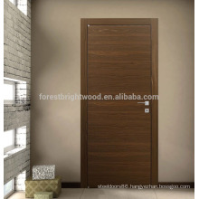 Modern flush door design for appartment
