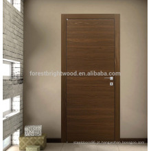Design moderno de porta nivelada para apartamento