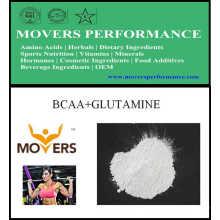 Venta caliente culturismo nutrición deportiva Bcaa + glutamina