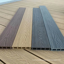 Wood grain WPC decking,new generation WPC decking,3D embossed surface for outdoor