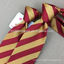 Cravate faite à la main parfaite 100% soie Chine Cravate Fabricant