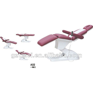 3 motors hot sale electric facial chair bed