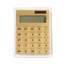 Акриловый калькулятор с золотым зеркалом