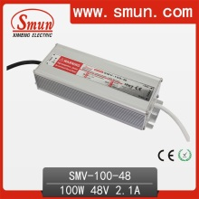 Smun 100W 48V Outdoor Waterproof LED Driver para LED Strip