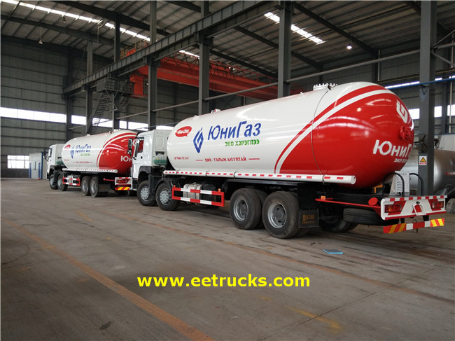 SINOTRUK LPG Transport Trucks