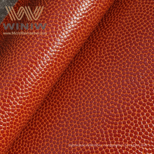 Synthetic Leather Materials Supplier Custom Wholesale Microfiber Basketball PU Leather