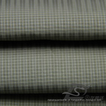 Water & Wind-Resistant Jacket Moda Down Jaqueta tecida Plaid Jacquard 100% Poliéster Sea-Island tecido filamento (X050)