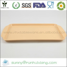 Rectangle bamboo fiber serving tray L48*W29cm