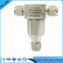 6000psi alta presión SS 316 90 Micron Bypass Filtros