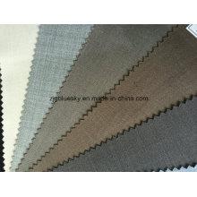 Tecido de lã pronto estoque com poliéster