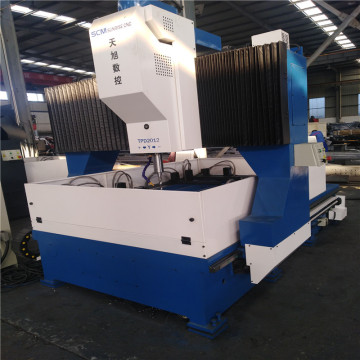 Lubang Deep CNC Steel Drilling Machine