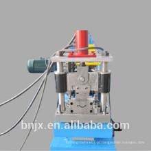 Máquina formadora de rolos do obturador da porta, Máquina formadora de rolos obturadores sem perfuração