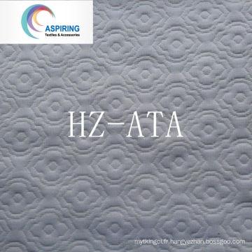 Tissu en tricot de matelas pneumatique Jacquard