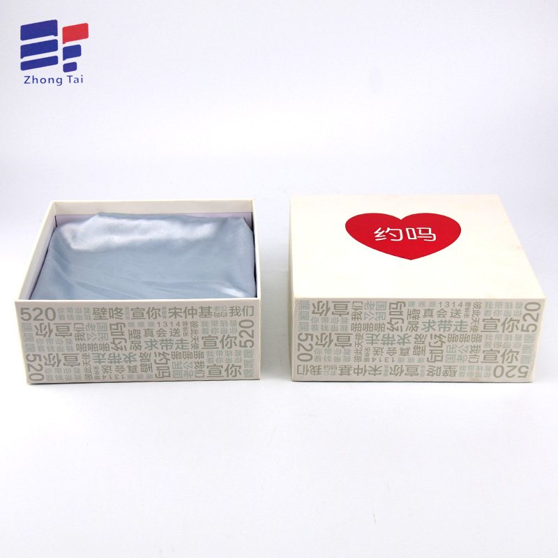 Red Hot Stamping Packaging Box