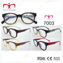 Tr 90 marco óptico para Unisex de moda y Pouplar (7003)