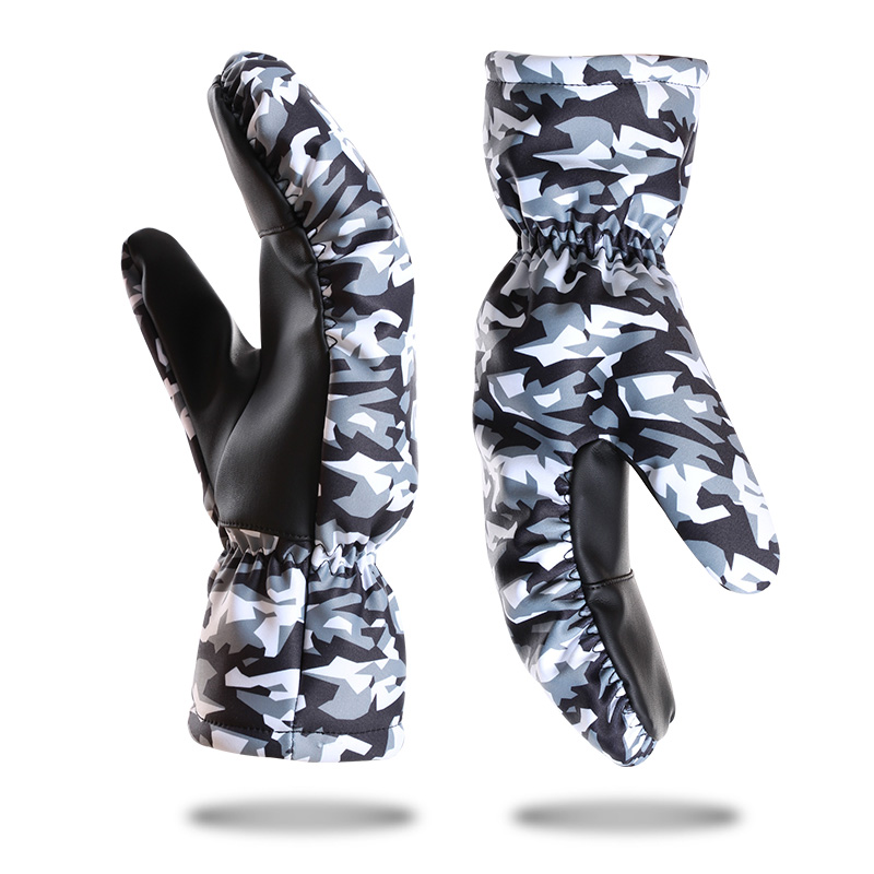 Camouflage Fashion ski gloves