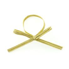 Gouden flap metaal elastische boog goedkoop aanbod