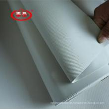 Membrana impermeável do PVC usada no jardim do telhado