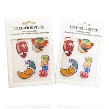 3d changeant couleur magique étiquette de tatouage autocollants amovibles papier a4