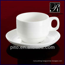 PT porcelain factory, ceramic coffee cup and saucer, catering coffee cups