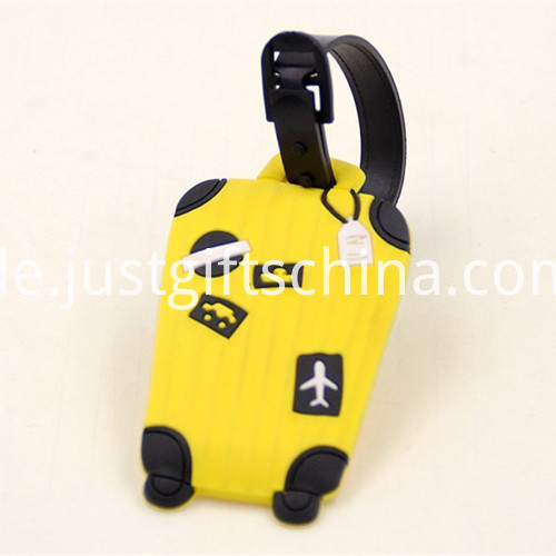 Promotional Cartoon Shaped Luggage Tags 3