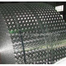 Verschiedene Muster Checkered Plate Aluminium für Dekoration in China