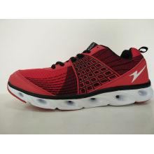 Мода красный Flyknit Мужская повседневная спортивная обувь Обувь
