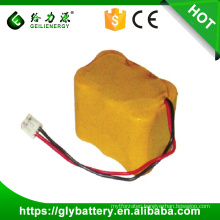 Supply rechargeable aa 7.2v 600mah nicd battery pack