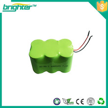 2.4 v nimh 4000mah battery pack