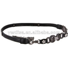 Women's PU Belt With Alloy Chain