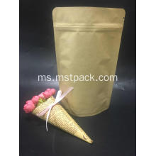 Kraft Paper Stand Up With Zipper