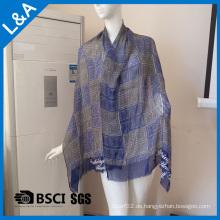 Männer Blue Rayon Schals