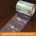 Holographic Transparent Credit Card Overlays