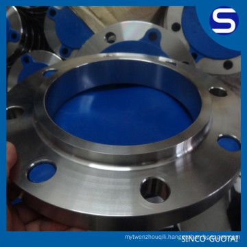 stainless steel ANSI B16.5 so flange