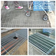 Galvanized Steel Grating Walkway Cover