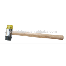 Plastic Soft Face Hammer with wooden handle