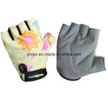 Gym Fahrrad-halber Finger-Radfahren-Padding-Fahrrad-Sport-Handschuh