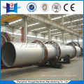 Industrial triple-pass rotary drum dryer