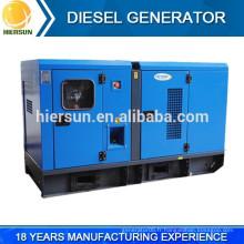 Groupe électrogène diesel silencieux de bon prix, groupe électrogène diesel silencieux 400V / 230V