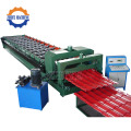 Gerbang Aluminium Arc Glazed Roofing Roll Forming Machine